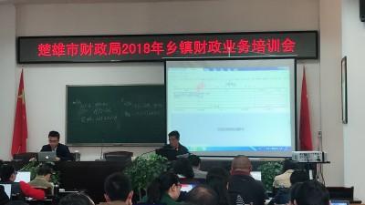 楚雄市財政局2018年鄉鎮財政業務培訓